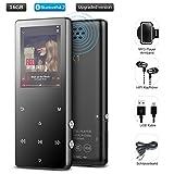 Bluetooth MP3 Player 16GB mit Kopfhörer, Mini...