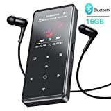 MP3 Player, AGPTEK 16GB HiFi Bluetooth 4.0 MP3...