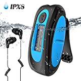 IPX8 Wasserdicht MP3 Player, 8GB HiFi MP3 Musik...