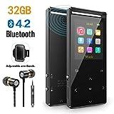 MP3 Player 32GB mit Bluetooth 4.2 unterstützen...