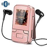 Bluetooth 4.0 8GB MP3 Player mit Clip, FM Radio,...