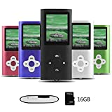 Btopllc Tragbarer MP3-Player MP4-Player 1,7 Zoll...