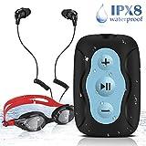 AGPTEK Wasserdicht MP3 Player zum Schwimmen und...