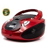 Lauson CD-Player | Tragbares Stereo Radio | USB |...