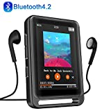 MP3 Player, 16GB Bluetooth MP3 Player mit 2.4' LCD...
