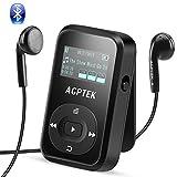 AGPTEK Bluetooth 4.2 8GB MP3 Player mit Clip,...