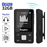 MP3 Player, Kingbox 32GB Bluetooth 4.1 Mini Sport...