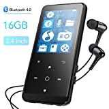 Bluetooth 4.0 16GB MP3 Player, HiFi Musik Player...