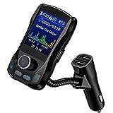 OMORC FM Transmitter, Bluetooth KFZ Wireless Radio...