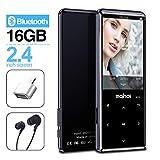 MYMAHDI MP3-Player mit Bluetooth 4.2, Touch-Tasten...