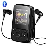 AGPTEK 8 GB Bluetooth 4.0 Clip Sport MP3-Player...