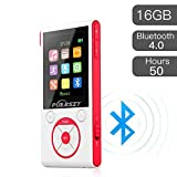 puerist MP3-Player mit Bluetooth 4.0 Hi-Fi 16 GB...