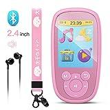 AGPTEK Bluetooth 4.0 Kinder MP3 Player 8GB mit...