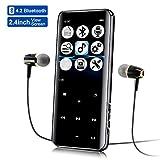 MP3 Player 8GB, Mansso Bluetooth MP3 Player mit...