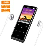 SuperEye MP3 Player 16GB Bluetooth 4.1 mit...