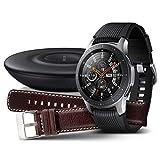 Samsung Galaxy Watch 46mm Bundle, silber + Charger...
