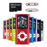 Mymahdi MP3 / MP4 beweglicher Spieler, Rot mit 1.8...