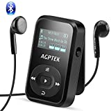 AGPTEK Bluetooth 4.0 8GB MP3 Player mit Clip,...