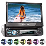 XOMAX XM-D750 Autoradio mit 18 cm / 7' Touchscreen...