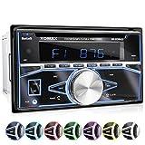 XOMAX XM-2CDB622 Autoradio mit CD-Player,...