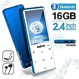 MYMAHDI MP3-Player mit Bluetooth 4.1, Touch-Tasten...