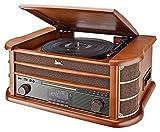 Dual NR 50 DAB Stereo-Nostalgie-Komplettanlage mit...