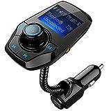 Bluetooth FM Transmitter, OMORC KFZ Auto Radio...