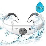 Tayogo MP3-Player, wasserdicht, mit Kopfhörern, 8...