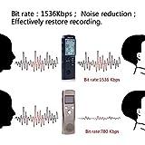 Digitales Diktiergerät,AngLink 1536kbps 8GB...