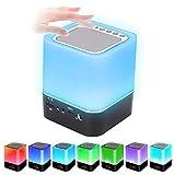 Prenine Bluetooth Lautsprecher mit Licht, LED...