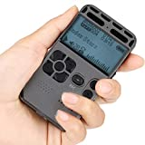 GTJXEY Tragbare 8GB Digital Voice Recorder, Ton...