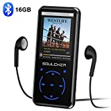 MP3 Player, 16GB Bluetooth MP3 Player mit...