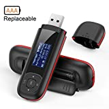 AGPTEK 8GB Tragbare USB MP3 Player 1 Zoll LCD...