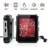 MP3 Player Bluetooth 4.1, Timoom Touchscreen 16GB...