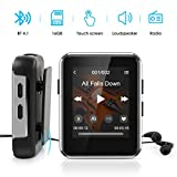 MP3 Player Bluetooth 4.1, Timoom Touchscreen 16GB...