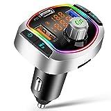 FM Transmitter Auto Bluetooth 5.0 Radio...