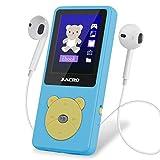 Zacro MP3 Player Kinder mit kopfhörer 1,8'...
