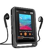 MP3 Player, 16GB Bluetooth MP3 Player mit 2.4' LCD...