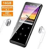 SuperEye MP3 Player 16GB Bluetooth 4.1 mit...