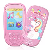 Bluetooth MP3 Player Kinder, AGPTEK Einhorn Video...