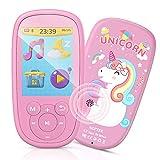 Bluetooth MP3 Player Kinder, AGPTEK Einhorn MP4...