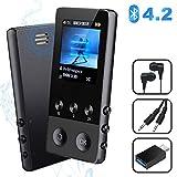 MP3 Player, 8GB Bluetooth Sport Musik Player mit...