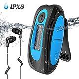 IPX8 Wasserdicht MP3 Player, 8GB HiFi MP3 Musik...