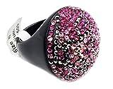 MP3 Ring mit Kristallen, Pink
