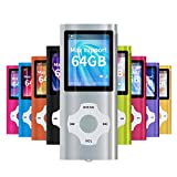 Mymahdi MP3 / MP4 Portable Player, Silber mit 1,8...