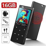 SuperEye 16GB Bluetooth 4.2 MP3 Player mit...