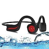 MP3-Knochenleitungskopfhörer Wasserdicht IPX8 16...