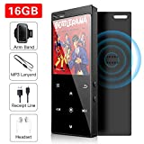16 GB MP3-Player mit Bluetooth 4.2, Musik-Player...