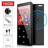 16 GB MP3-Player mit Bluetooth 4.2, Musik-Player...