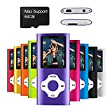 Mymahdi MP3/MP4-Player, lila mit...